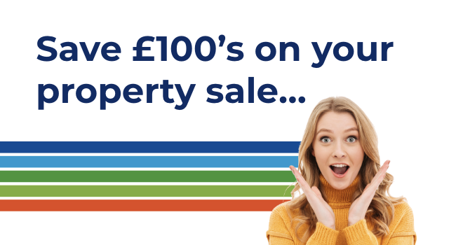 Save £100's on your property sale...